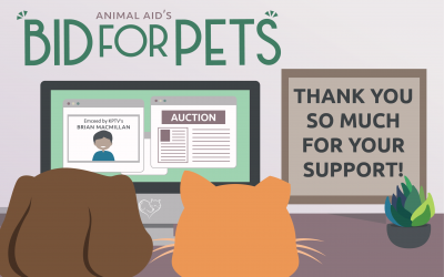 Thank you for making Bid for Pets a success!